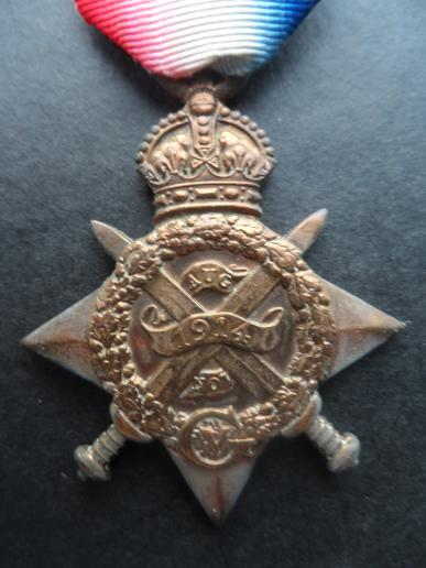 1914 STAR SCAGELL-ROYAL ARMY MEDICAL CORPS