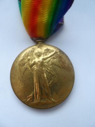 VICTORY MEDAL-CAPTAIN CEDRIC WILLIAM LE-MEASURIER CROLL