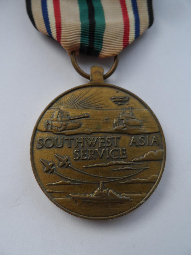 U.S.A.SOUTH WEST ASIA SERVICE MEDAL