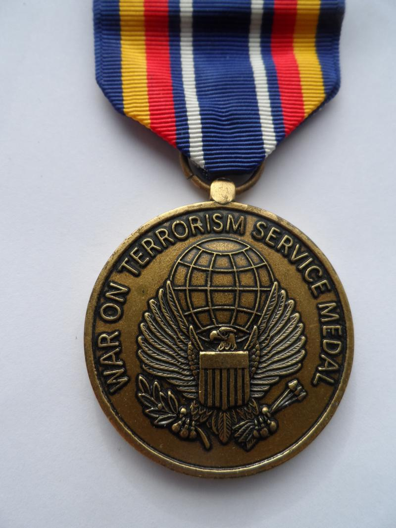 U.S.A.-WAR ON TERRORISM MEDAL